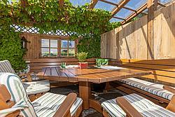 einfach wohlfühlen - Terrasse Metzgerwirt ©becknaphoto