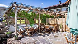 gemütliche Terrasse Der Metzgerwirt ©becknaphoto