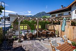 Terrasse Der Metzgerwirt (Uderns) ©becknaphoto