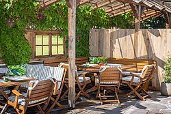 Terrasse Der Metzgerwirt ©becknaphoto